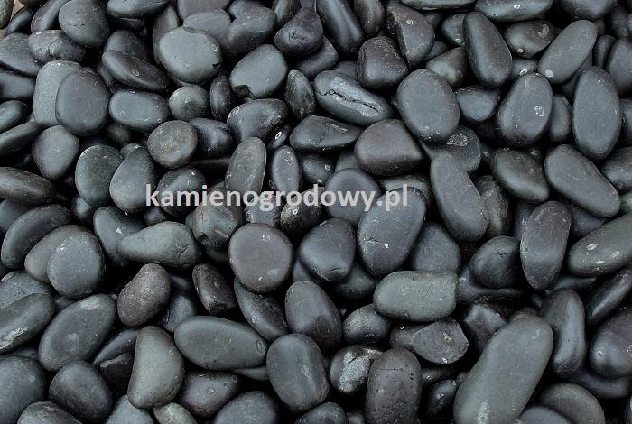 Otoczak Czarny Polerowany 23cm Sklep Bazalt Kamień
