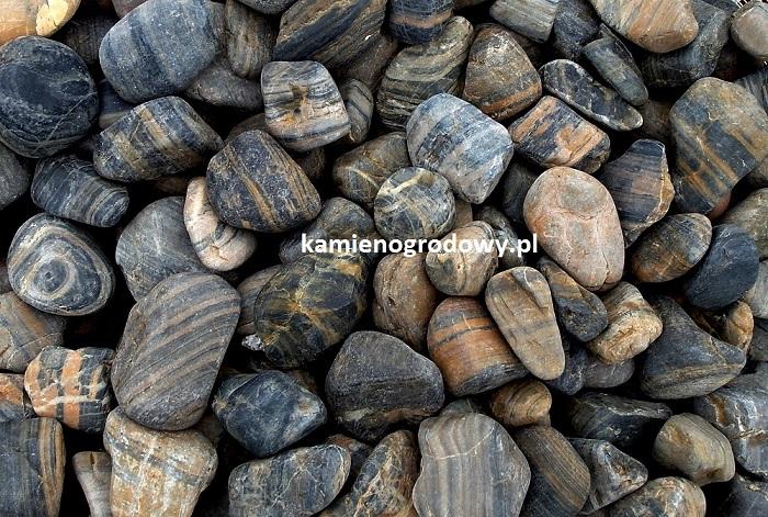Otoczak Pasiasty Polerowany 23cm Sklep Bazalt Kamień